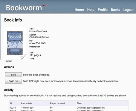Bookworm Lets You to Download Google Books as PDF File Online | formation 2.0 | Scoop.it