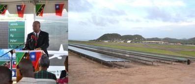 Caribbean News Now!: St Kitts debuts solar energy farm | Energy in the Caribbean | Scoop.it