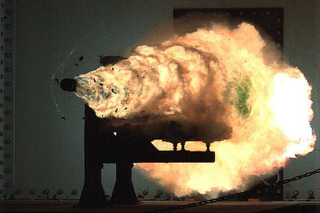 Navy Plans to Test Fire Railgun at Sea in 2016 | Shock Physics | Scoop.it