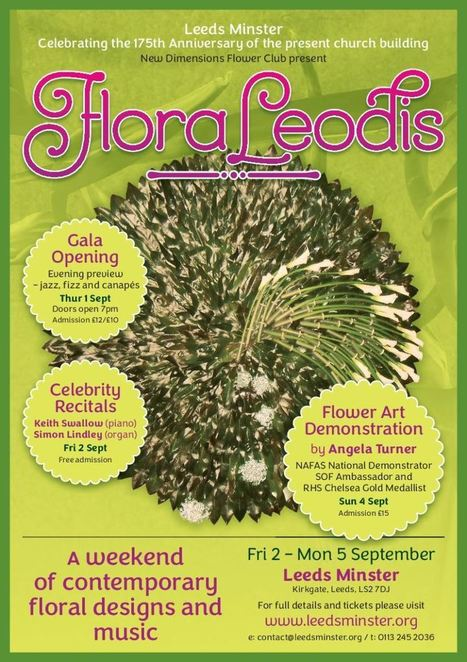 FLORALEODIS Contemporary Floral Designs and Music | Leeds Minster | Scoop.it