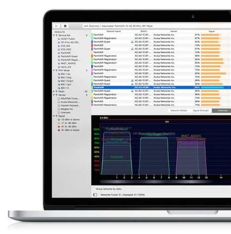 WiFi Explorer | $20 3 day trial | Mac Tech Support | Scoop.it