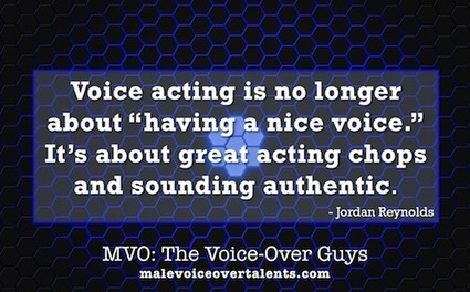 Male Voice-Over Talents – The Voice-Over Guys! Today's Voice-Over Zen by Jordan Reynolds - Male Voice-Over Talents - The Voice-Over Guys! | The Scoop on Voiceover | Scoop.it