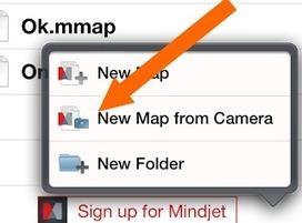 Heuristiquement: Utiliser la caméra du Smartphone pour le Mind Mapping | Cartes mentales, mind maps | Scoop.it