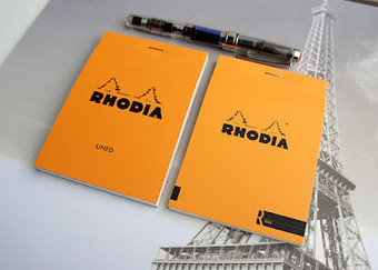 R by Rhodia vs Original Rhodia Notepads | Writer's Bloc Blog | stationery | Scoop.it