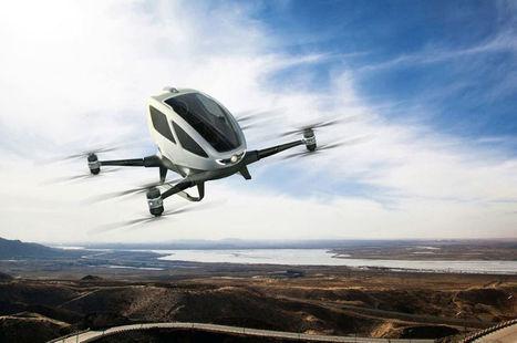 Des drones pour le transport de personnes ? Uber y songe (sérieusement) | Vous avez dit Innovation ? | Scoop.it
