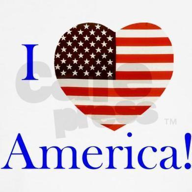 I Love America! Women's Tank Top on CafePress.com | Web Trek OT | Scoop.it