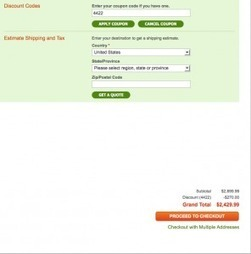 Magento: How To Apply Shopping Cart / Checkout Discounts ...   E-Commerce Development , e Commerce Web Solutions   Scoop.it