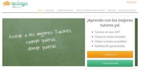 Aulaya, servicio de tutorías online para toda Latinoamérica, de Educatina | Formación Disruptiva: TIC, Pedagogía y Más | Scoop.it
