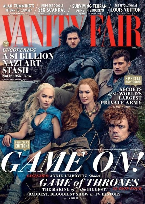The gallery magazines — Game of Thrones - Vanity Fair (2014) | Tokyo James | Scoop.it
