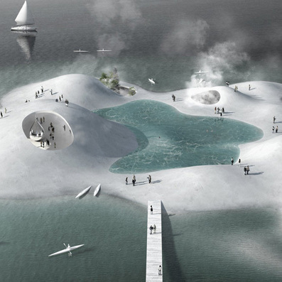 Blue Plan for Copenhagen Harbour by Tredje Natur and PK3   Arquitectura sostenible   Scoop.it