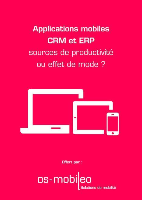 Ebook: Applications mobiles CRM et ERP sources de productivité ou effet de mode ? sur Le Monde Informatique | Applications mobiles professionnelles | Scoop.it