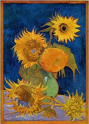 Rare Van Gogh Sunflowers image found...   Art for art's sake...   Scoop.it