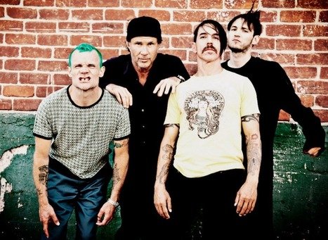 "Red Hot Chili Peppers premiere new song ""The Getaway"" — listen by Red Hot Chili Peppers reveal new song ""We Turn Red"" 