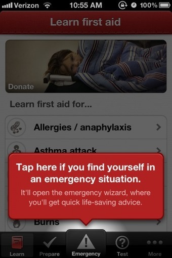 Learning First Aid from the Red Cross through a Health Gamification app | Salud 2.0 | Karmeneb | Scoop.it
