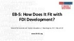 EB-5: How Does It Fit With FDI Development? (SelectUSA Academy) | Strengthening Brand America | Scoop.it