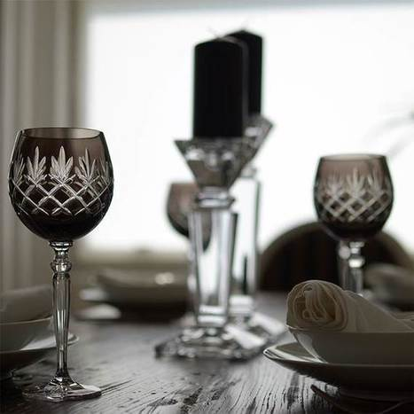 Know your wine glasses - Insights from our founder Joanna Maya | Coloured Crystal | Scoop.it