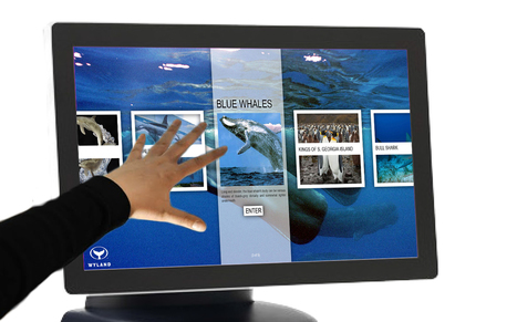 """Win a 22"""" Multi-Touch Display 