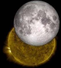 Quand la Lune a rendez-vous avec le Soleil | Le soleil | Scoop.it