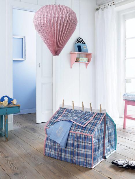 Miluccia ◆: DIY: une cabane pour enfants | Best of coin des bricoleurs | Scoop.it
