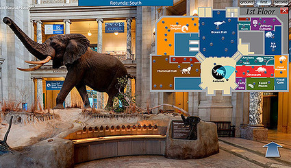 Virtual Tour: Panoramic Images: Smithsonian National Museum of Natural History | Virtual tours, visite virtuelle, google visit pro | Scoop.it