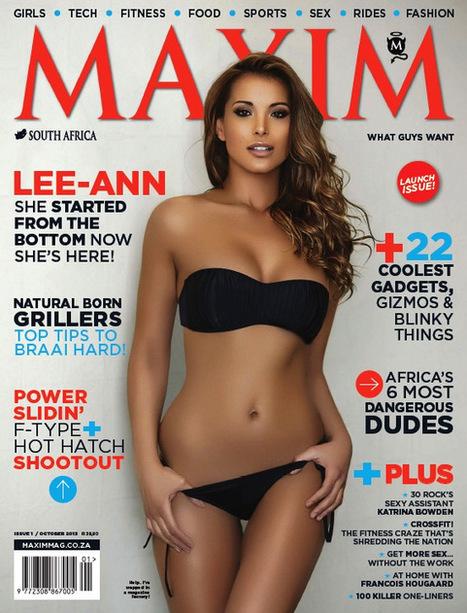 Get, Read, Simple: Maxim South Africa - October 2013 | freepubtopia | Scoop.it