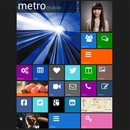 12 Beautiful Metro Joomla Templates | Smashmagz | Smashmagz | Scoop.it