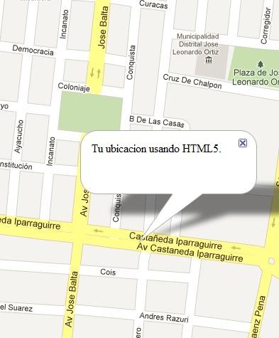 Ejemplo de Geolocalización con HTML5 y Google Maps | TutsNT | Noticias de html5 + CSS3 | Scoop.it