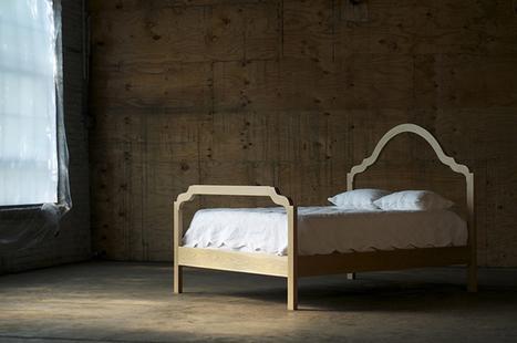 A bed with a nice line ... Zakrose Bed | Stilsucht | Du mobilier, ou le cahier des tendances détonantes | Scoop.it