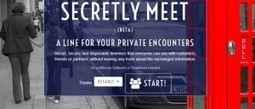 Secretlymeetme. Creer une timeline collaborative privée | Trucs&Astuces : veille2.0 | Scoop.it