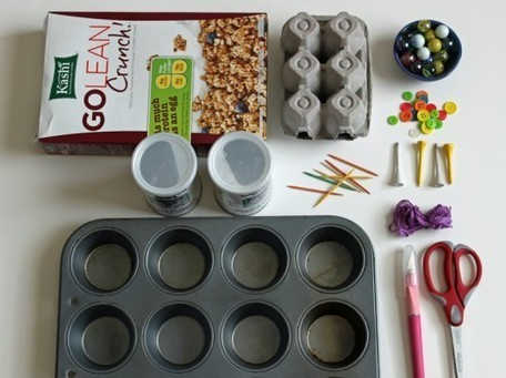 5 Eco-Friendly Fine Motor Skills Activities That You Can Make With Your Child | Inhabitots | Motor activity for young children | Scoop.it