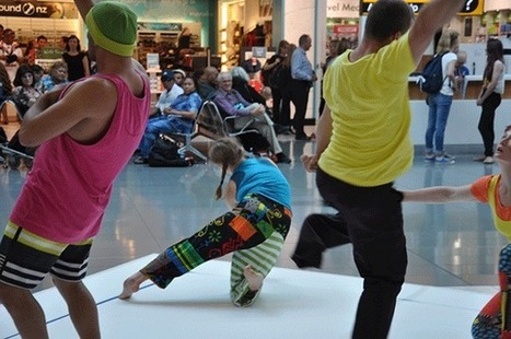 Auckland Airport's international terminal were treated to two free shows by dance - Travelandtourworld.com | Global Vision Tours | Scoop.it