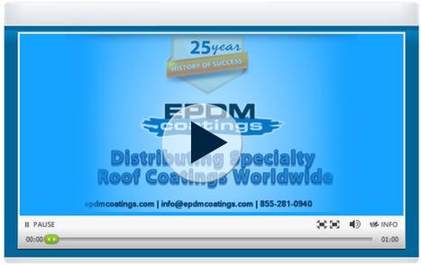 EPDM Rubber Roofing for Roof Leaks Repair Solution | EPDM Coatings | Scoop.it