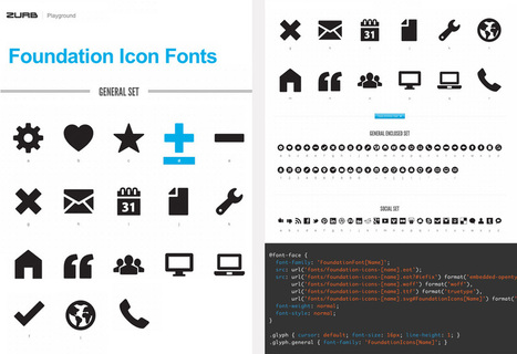 Thousands of free Vector icons and Icon Webfonts for Interfaces and Responsive web design | icons | Scoop.it