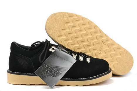 Mens Red Wing 3180 Classic Moc Oxford Shoes Black | new and share style | Scoop.it
