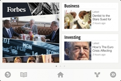 New Curation App: Google Targets Flipboard With Currents | GigaOM | Social Media Productivity | Scoop.it