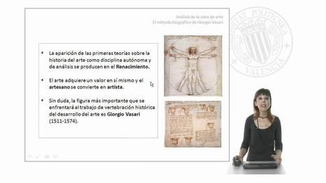 Análisis de la obra de arte: El método biográfico de Giorgio Vasari.© UPV   Rebollarte   Scoop.it
