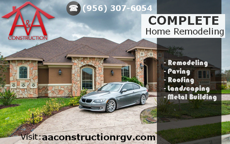 A Complete Home Remodeling in McAlle | A&A Construction | Scoop.it