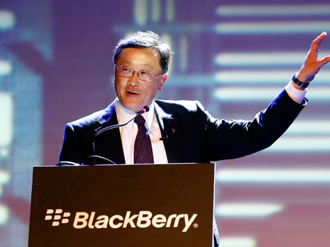 BlackBerry Ltd unveils Project Ion strategy aimed at 'Internet of Things' for businesses | In Midstream - Tracking companies and government departments in pursuit of new revenue streams | Scoop.it