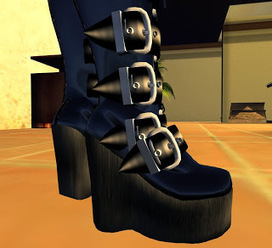 Rockoil Uniform Boots | A Collection of Second Life Blogs | Scoop.it