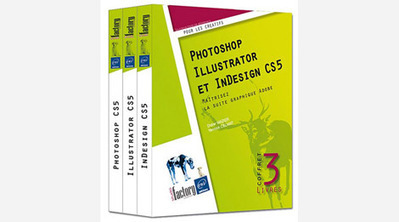 3 livres Photoshop, Illustrator, InDesign CS5 | 3D Library | Scoop.it