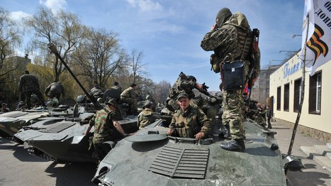Ukraine Crisis: Russia Endorses Call For Protesters To Disarm - NPR (blog) | ukraine | Scoop.it