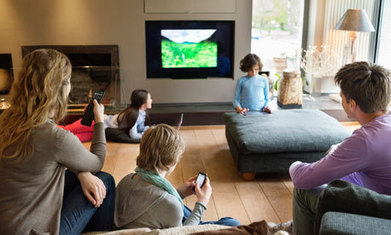 The living room makes a comeback, and it has technology to thank   New media technologies   Scoop.it