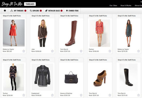 "Shop It To Me beefs up its shopping personalization engine with ""Threads"" 