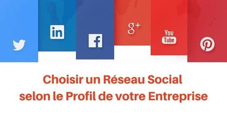 ▶ Quel Réseau social pour Mon Entreprise : le Guide | LINKSWITCH | Scoop.it