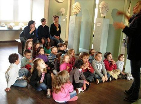 Montredon-Labessonnié. Les tout-petits de La Sigourre ont visité les musées toulousains | Musée Saint-Raymond, musée des Antiques de Toulouse | Scoop.it