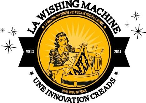 [interactive] La Wishing Machine : la 1ère machine à voeux robotisée ! | [graphic + web design] - typography, ergonomy & visual identity | Scoop.it