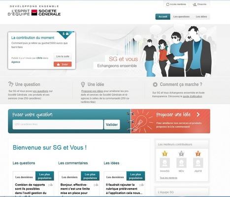Banques et réseaux sociaux : CRM 2.0 et communication grand public   Sanaa's News: Digital Marketing   Scoop.it