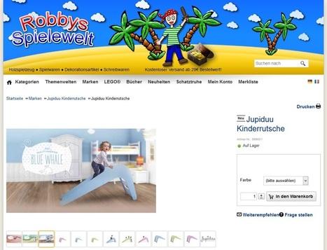 Robbys Spielewelt - der Onlineshop für Spielwaren, Holzspielzeug und Abenteuer | Mennetic Design | Scoop.it