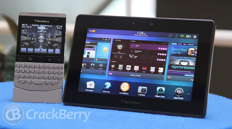 RIM confirms BlackBerry 10 heading to the PlayBook | CrackBerry.com | SMARTPHONES, TABLETTES & APPLICATIONS | Scoop.it