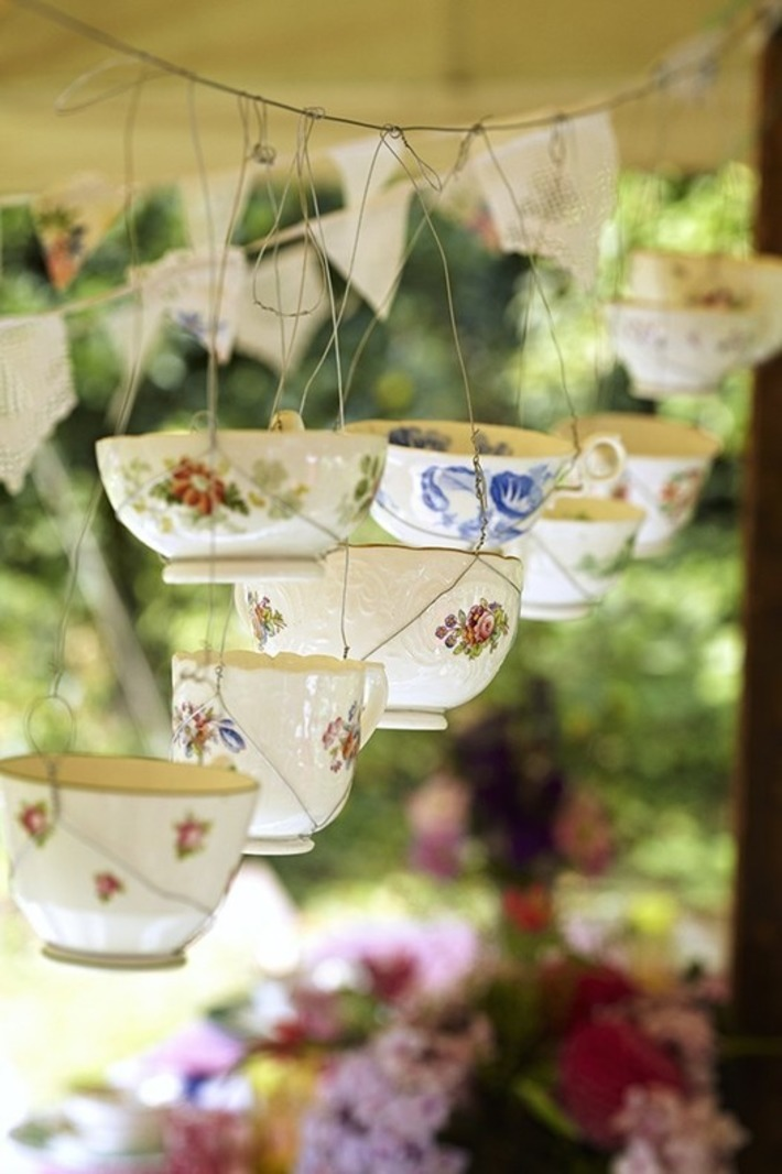How to make teacup candles - Sarah Moore craft projects | Wedding Ideas | Scoop.it